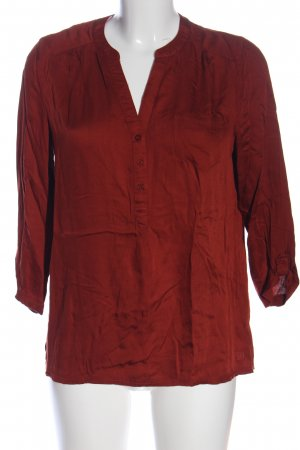 Tom Tailor Denim Hemd-Bluse rot Casual-Look