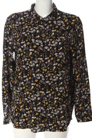 Tom Tailor Denim Hemd-Bluse Allover-Druck Casual-Look