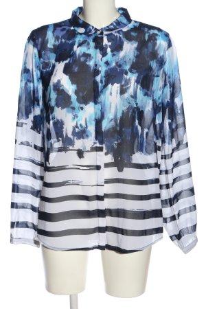 Tom Tailor Denim Hemd-Bluse abstraktes Muster Casual-Look