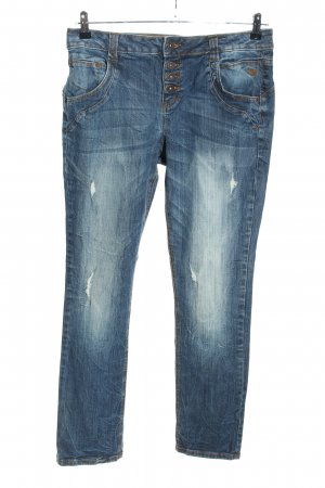 Tom Tailor Denim High Waist Jeans blau Casual Look