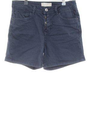 Tom Tailor Denim High-Waist-Shorts blau Casual-Look