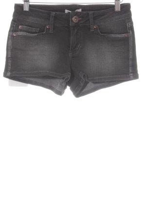 Tom Tailor Denim Hot Pants dunkelgrau Beach-Look
