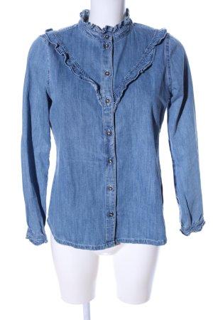 Tom Tailor Denim Denim Shirt blue flecked casual look