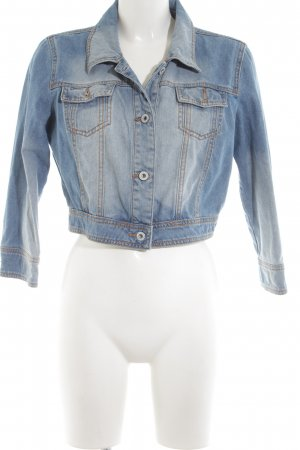 Tom Tailor Denim Jeansjacke blau Business-Look