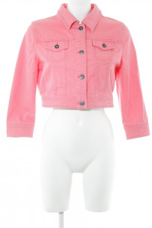 Tom Tailor Denim Jeansjacke pink Casual-Look