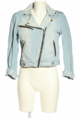 Tom Tailor Denim Jeansjacke blau Casual-Look