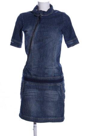 Tom Tailor Denim Vestido vaquero azul look casual