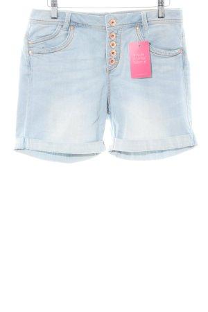 Tom Tailor Denim Jeansshorts blau Casual-Look
