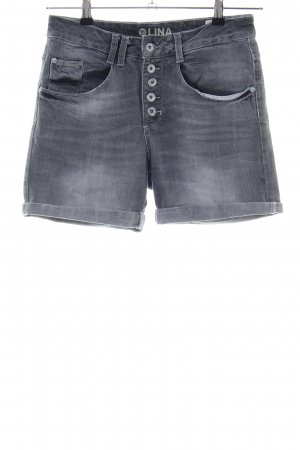 Tom Tailor Denim Jeansshorts hellgrau Casual-Look