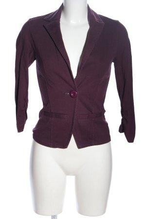 Tom Tailor Denim Jerseyblazer lila Casual-Look
