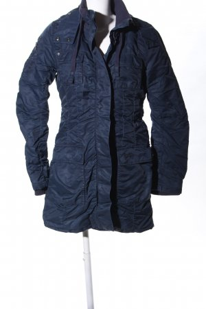 Tom Tailor Denim Hooded Coat blue casual look