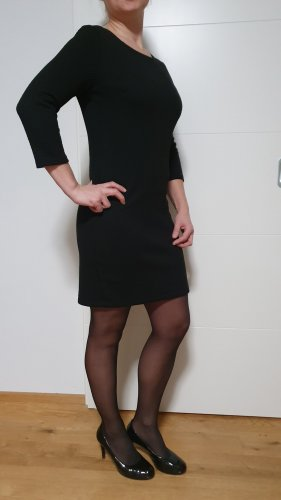 Tom Tailor Denim Kleid in schwarz Gr. L