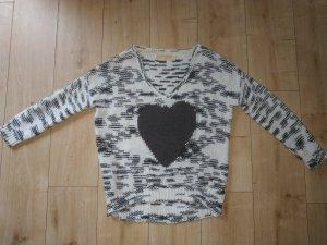 Tom Tailor Denim Knit Strick Pullover Herbst Winter Pullover Warm Herz M 38