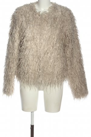 Tom Tailor Denim Fake Fur Jacket natural white street-fashion look