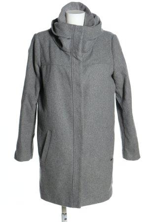 Tom Tailor Denim Kurzmantel hellgrau Casual-Look keine Textilangabe