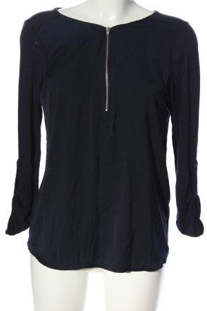 Tom Tailor Denim Langarm-Bluse schwarz Casual-Look