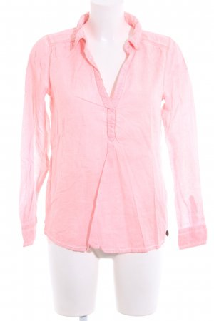 Tom Tailor Denim Langarmhemd pink Casual-Look