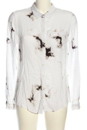 Tom Tailor Denim Langarmhemd abstraktes Muster Casual-Look