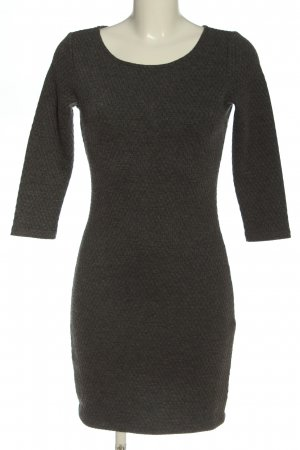 Tom Tailor Denim Longsleeve Dress light grey flecked casual look