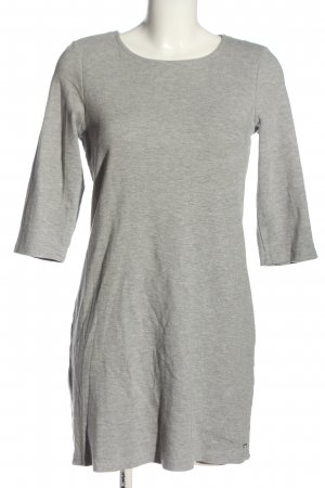 Tom Tailor Denim Robe à manches longues gris clair moucheté