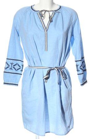 Tom Tailor Denim Langarmkleid blau Casual-Look