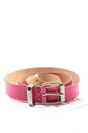 Tom Tailor Denim Cinturón de cuero rosa look casual