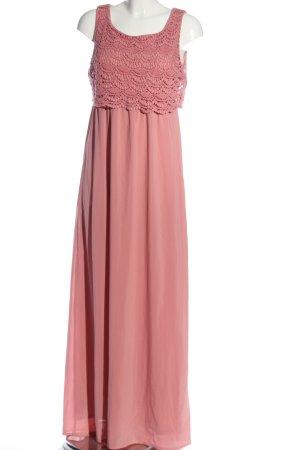 Tom Tailor Denim Maxikleid pink Elegant