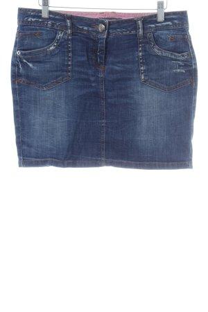 Tom Tailor Denim Minirock blau Casual-Look
