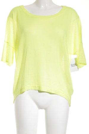 Tom Tailor Denim Oversized Shirt neongelb Casual-Look