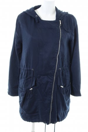Tom Tailor Denim Parka blau Casual-Look