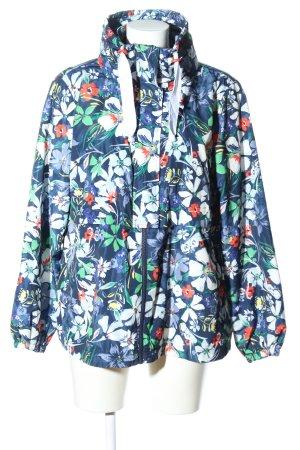 Tom Tailor Denim Regenjacke Blumenmuster Casual-Look