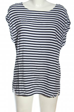 Tom Tailor Denim Camisa de rayas blanco-azul estampado a rayas look casual
