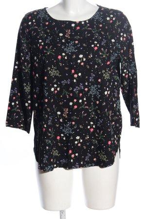 Tom Tailor Denim Schlupf-Bluse Blumenmuster Casual-Look