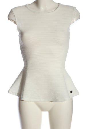 Tom Tailor Denim Schlupf-Bluse weiß Casual-Look