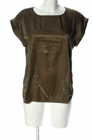 Tom Tailor Denim Slip-over Blouse khaki casual look