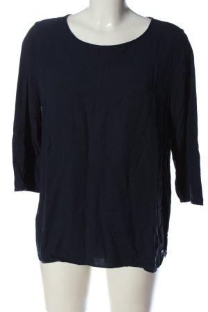 Tom Tailor Denim Schlupf-Bluse blau Casual-Look