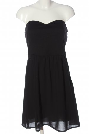 Tom Tailor Denim schulterfreies Kleid schwarz Elegant