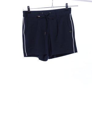 Tom Tailor Denim Shorts schwarz-weiß Casual-Look