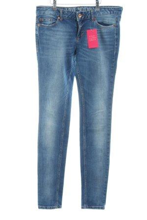 Tom Tailor Denim Skinny Jeans blau Casual-Look