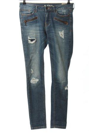 Tom Tailor Denim Slim Jeans blau Casual-Look