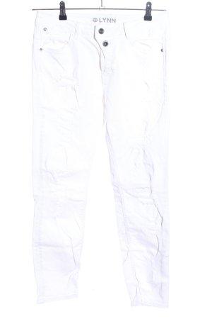 Tom Tailor Denim Slim Jeans weiß Casual-Look