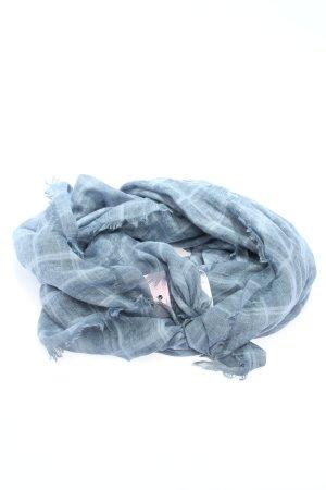 Tom Tailor Denim Chal veraniego gris claro estampado a cuadros look casual
