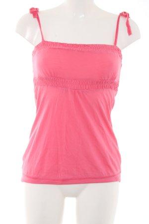 Tom Tailor Denim Spaghettiträger Top pink Casual-Look