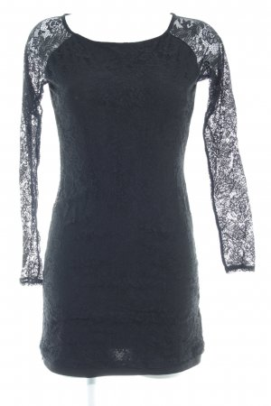 Tom Tailor Denim Spitzenkleid schwarz Elegant