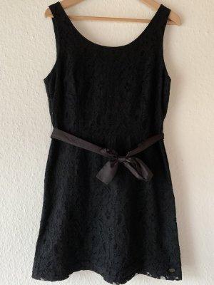 Tom Tailor Denim Kanten jurk zwart