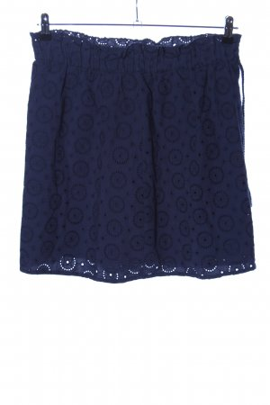 Tom Tailor Denim Lace Skirt blue allover print casual look