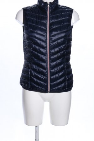 Tom Tailor Denim Quilted Gilet blue quilting pattern casual look