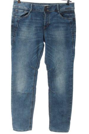 Tom Tailor Denim Jeansy z prostymi nogawkami niebieski W stylu casual