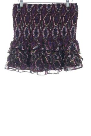 Tom Tailor Denim Stretchrock braunviolett Casual-Look