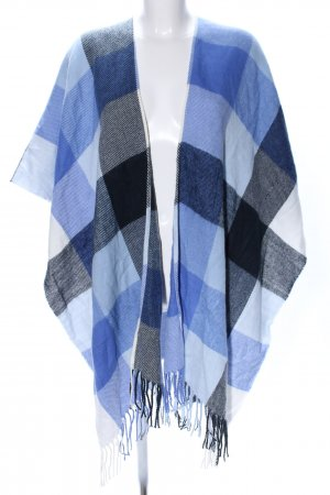 Tom Tailor Denim Knitted Poncho check pattern casual look